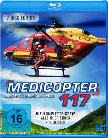 Medicopter 117 (Komplette Serie) (Blu-ray), 7 Blu-ray Discs