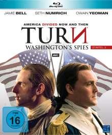 Turn - Washington's Spies Staffel 3 (Blu-ray), 4 Blu-ray Discs