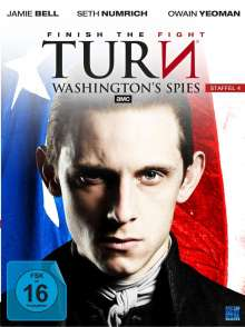 Turn - Washington's Spies Staffel 4 (finale Staffel), 4 DVDs