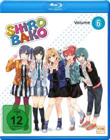 Shirobako Vol. 6 (Blu-ray), Blu-ray Disc