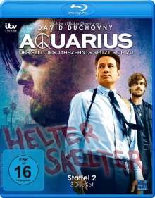 Aquarius Staffel 2 (Blu-ray), 3 Blu-ray Discs