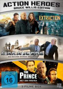 Action Heroes: Bruce Willis Edition, 3 DVDs