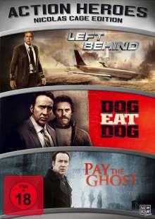 Action Heroes: Nicolas Cage Edition, 3 DVDs