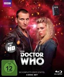 Doctor Who Staffel 1 (Limited Edition) (Blu-ray), 4 Blu-ray Discs