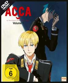 ACCA: 13 Territory Inspection Dept. Vol. 1, DVD