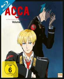 ACCA: 13 Territory Inspection Dept. Vol. 1 (Blu-ray), Blu-ray Disc