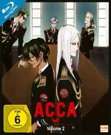 ACCA: 13 Territory Inspection Dept. Vol. 2 (Blu-ray), Blu-ray Disc