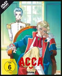 ACCA: 13 Territory Inspection Dept. Vol. 3, DVD