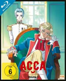 ACCA: 13 Territory Inspection Dept. Vol. 3 (Blu-ray), Blu-ray Disc
