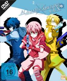 Aoharu x Machinegun Vol. 2, DVD