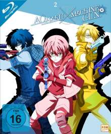 Aoharu x Machinegun Vol. 2 (Blu-ray), Blu-ray Disc