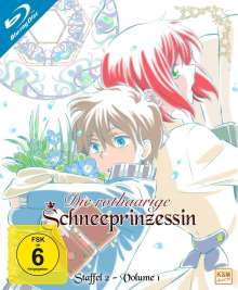 Die rothaarige Schneeprinzessin Staffel 2 Vol. 1 (Blu-ray), Blu-ray Disc