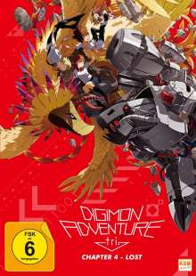Digimon Adventure tri. Chapter 4 - Lost, DVD