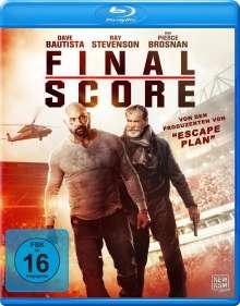 Final Score (Blu-ray), Blu-ray Disc