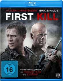 First Kill (Blu-ray), Blu-ray Disc