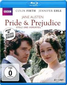 Pride & Prejudice - Stolz und Vorurteil (1995) (Blu-ray), 2 Blu-ray Discs