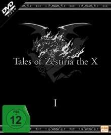 Tales of Zestiria: The X Staffel 1 (Digipack), 3 DVDs