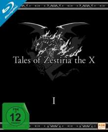 Tales of Zestiria: The X Staffel 1 (Blu-ray im Digipack), 3 Blu-ray Discs