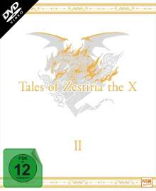 Tales of Zestiria: The X Staffel 2 (Digipack), 3 DVDs