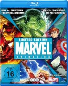 Marvel Animation (Blu-ray), 5 Blu-ray Discs
