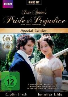Stolz und Vorurteil - Pride And Prejudice (1995) (Special Edition), 6 DVDs