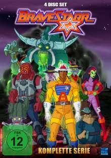 BraveStarr (Komplette Serie), 4 DVDs