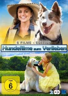Hundefilme zum verlieben (6 Filme auf 2 DVDs), 2 DVDs