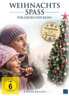 Weihnachtsspass für Groß und Klein (3 Filme Edition), 3 DVDs