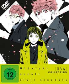 Midnight Occult Civil Servants OVA-Collection (3 OVAs), DVD
