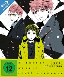 Midnight Occult Civil Servants OVA-Collection (3 OVAs) (Blu-ray), Blu-ray Disc