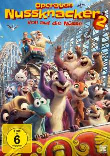 Operation Nussknacker 2 - Voll auf die Nüsse, DVD