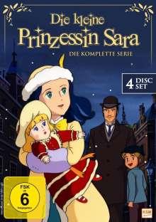 Die kleine Prinzessin Sara (Komplette Serie), 4 DVDs