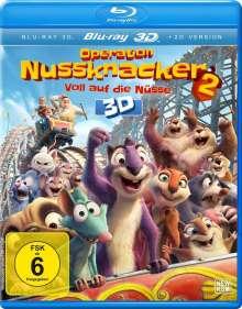 Operation Nussknacker 2 - Voll auf die Nüsse (3D Blu-ray), Blu-ray Disc