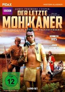 Der letzte Mohikaner (1971), 3 DVDs