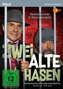 Zwei alte Hasen (Komplette Serie), 4 DVDs