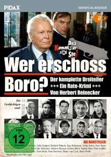 Wer erschoss Boro?, DVD
