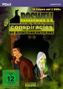 Roswell Conspiracies Vol. 1, 2 DVDs