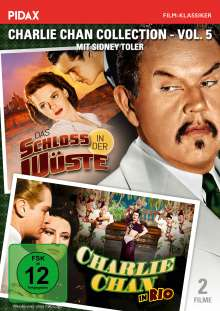 Charlie Chan Collection Vol. 5: Charlie Chan in Rio / Das Schloss in der Wüste, DVD