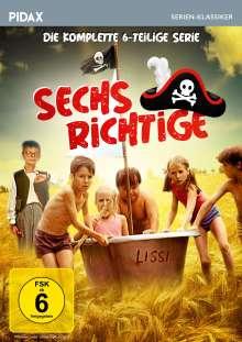 Sechs Richtige (Komplette Serie), DVD