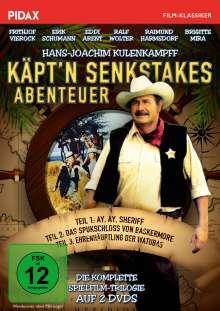 Käpt'n Senkstakes Abenteuer (Komplette Trilogie), 2 DVDs