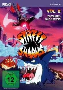 Street Sharks Vol. 2, 2 DVDs