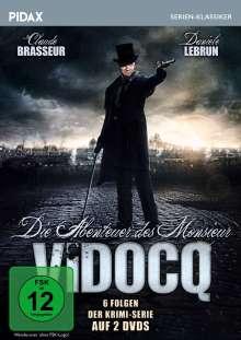 Die Abenteuer des Monsieur Vidocq, 2 DVDs