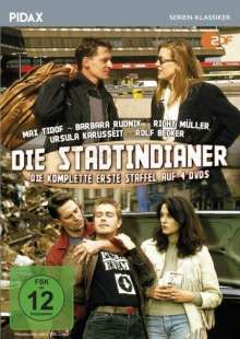 Die Stadtindianer Staffel 1, 4 DVDs