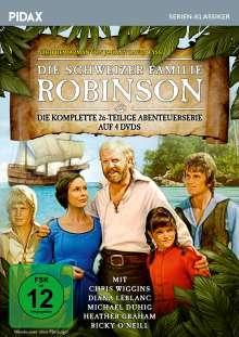 Die schweizer Familie Robinson (Komplette Serie), 4 DVDs