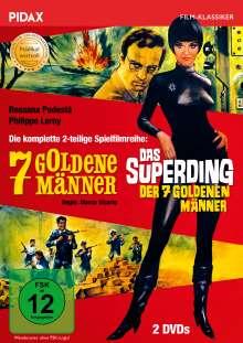 7 goldene Männer / Das Superding der 7 goldenen Männer, 2 DVDs