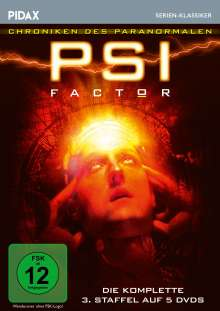 PSI Factor Staffel 3, 5 DVDs
