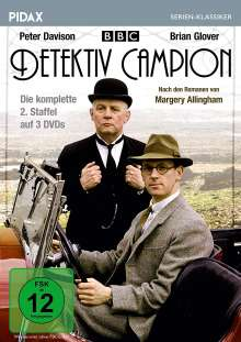 Detektiv Campion Staffel 2, 3 DVDs