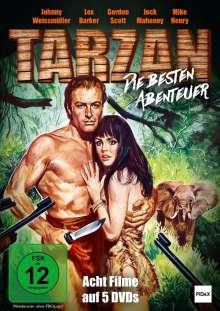 Tarzan - Die besten Abenteuer (8 Filme auf 5 DVDs), 5 DVDs