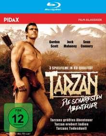 Tarzan - Die schärfsten Abenteuer (Blu-ray), Blu-ray Disc