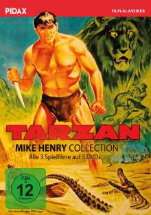Tarzan - Mike Henry Collection, 3 DVDs